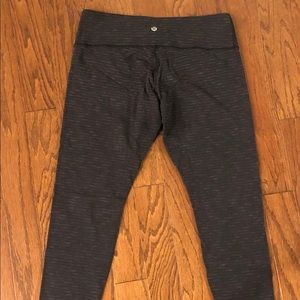 Wunder Under Legging Knit Heathered Grey Size 10